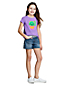 T-Shirt Graphique à Manches Courtes, Fille