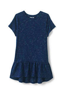 Little Girls Print Tunic Top, Front