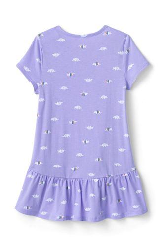 Girls Print Tunic Top