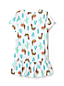 Toddler Girls' Patterned Peplum Cotton Tunic Top
