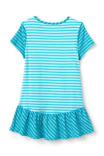 Girls Print Tunic Top, Back
