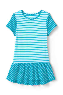 Girls Print Tunic Top, Front