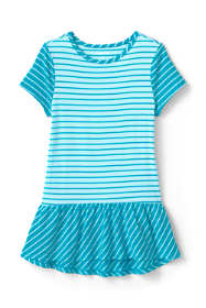 Little Girls Print Tunic Top
