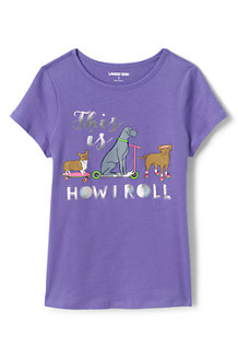 Kids' Short Sleeve Graphic Novelty Tee