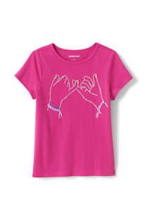 Little Girls Graphic T-Shirt, Front