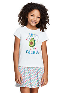 Girls Plus Graphic T-Shirt, Front