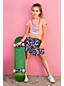 Grafik-Shirt mit UV-Print für kleine Mädchen