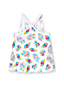 Girls' Floaty Pure Cotton Vest Top