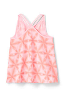 Girls Plus Print Flowy Tank Top, Back