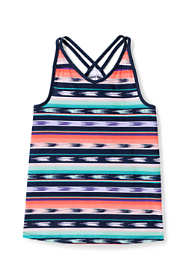 Little Girls Print Flowy Tank Top