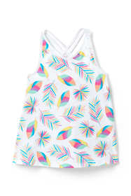 Girls Print Flowy Tank Top