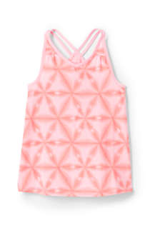 Girls Plus Print Flowy Tank Top, Front