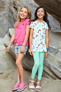 Girls Print Tunic Top, alternative image
