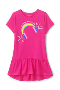 Little Girls Graphic Tunic Top, Front