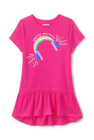 Girls Graphic Tunic Top