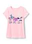 T-Shirt Graphique Magique à Manches Courtes, Petite Fille