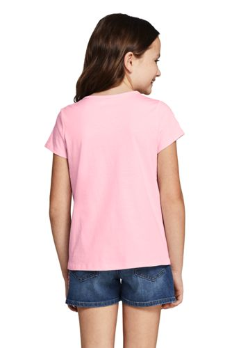 Girls Plus Color Change Graphic T Shirt