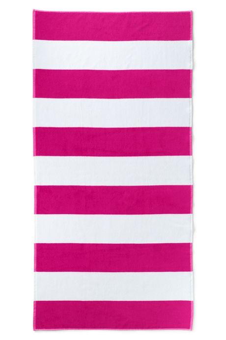 Adult Cabana Rugby Stripe Beach Towel