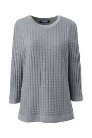 Women's Cotton Modal Textured Sweater