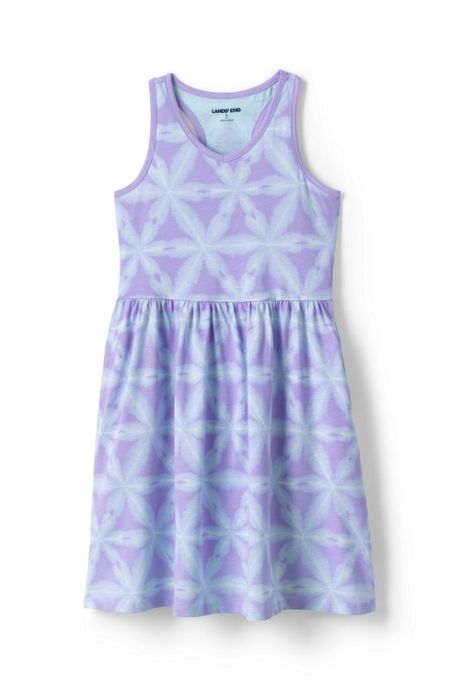 Girls Print Tank Dress