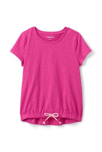 Shirt mit schrägem Saum für große Mädchen
