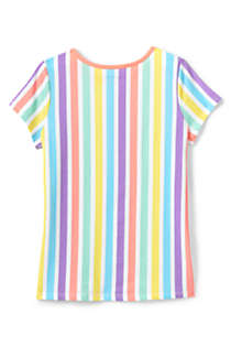 Girls Plus Size Pattern T Shirt, Back