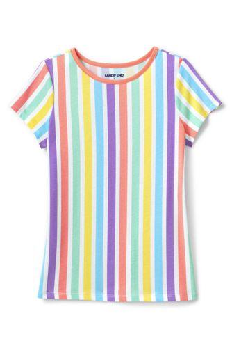Shirt mit Farbmustern für große Mädchen