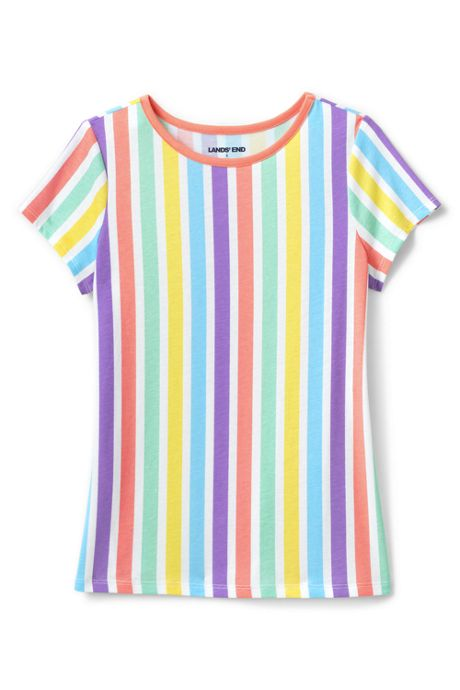 Girls Plus Size Pattern T Shirt