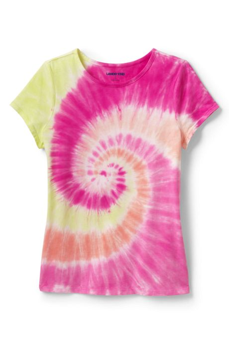 Little Girls Pattern T Shirt