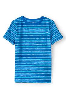 Gemustertes Jersey-Shirt für Jungen
