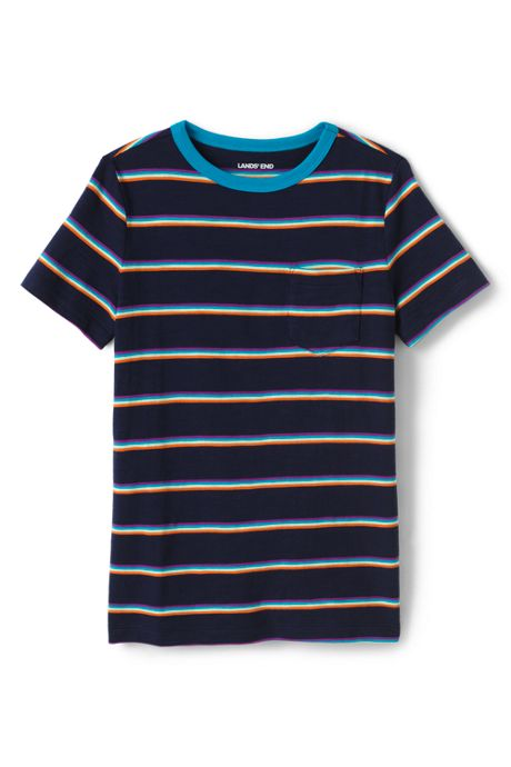 Toddler Boys Pattern Slub T Shirt
