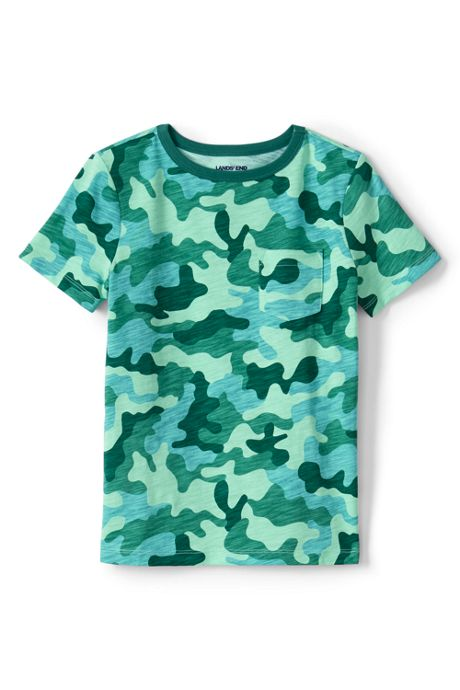 Boys Pattern Slub T Shirt