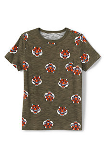 Boys' Pocket T-shirt, Patterned