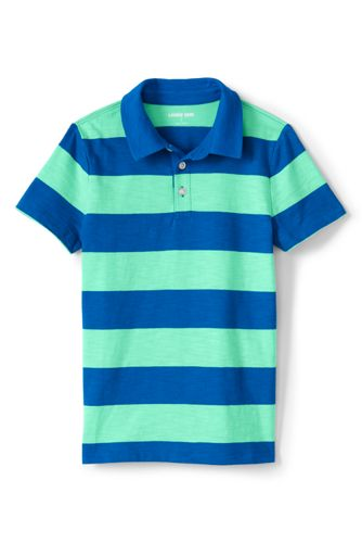 Little Boys' Jersey Polo Shirt, Pattern