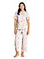 Gemustertes Pyjamahemd für Damen