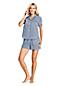 Women's Seersucker Cotton Pyjama Shirt