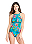 Women's Keyhole Perfect Swimsuit, Print