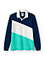 Men's Rugby Shirt, Colourblock