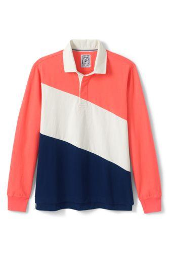 Men's Rugby Shirt, Colourblock