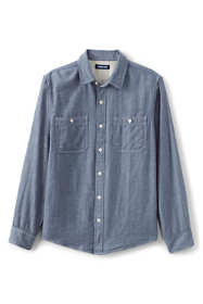 Men's Tall Traditional Fit Double Cloth Work Shirt
