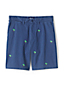 Men's Embroidered Stretch Chino Shorts
