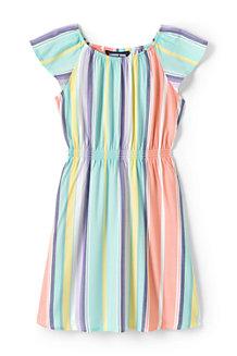 Kleid mit gesmokter Taille für  Mädchen