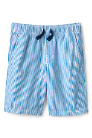 Boys Slim Seersucker Pull On Shorts