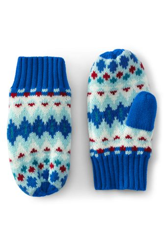 Kids' Knitted Mittens