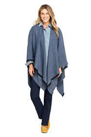 Women's Twill Weave Shawl Wrap
