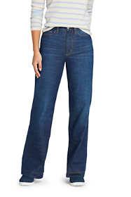 Women's Indigo Wide Leg Jeans