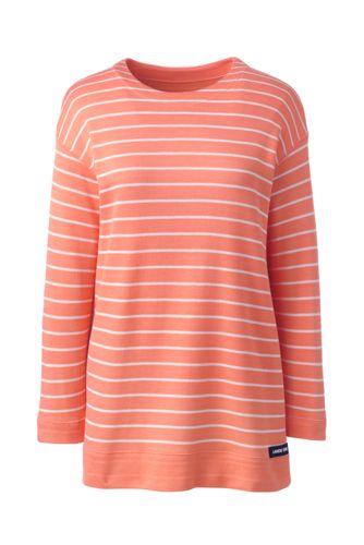 Wendeshirt mit 3/4-Ärmeln für Damen