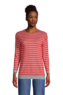Women's Three-Quarter Sleeve Reversible Jersey Top