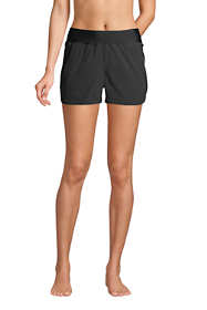 "Women's 3"" Quick Dry Elastic Waist Board Shorts Swim Cover-up Shorts"