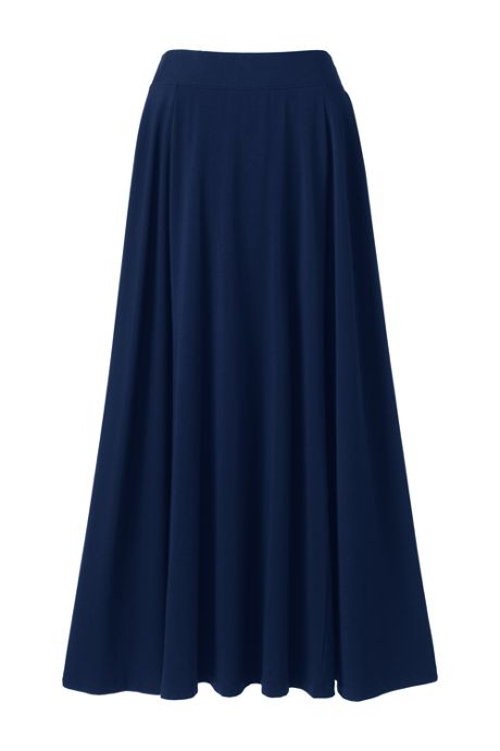 Women's Plus Size Knit Maxi Skirt